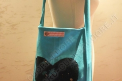Borsa Shopper TOTE bag & Babywearing con applicazione Piccolo Principe