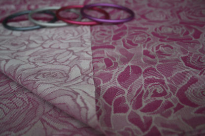 Tessuto Armatura Diagonale Rose Ginevra