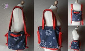 Borsa Babywearing o Babywearing Bag Extro Wrap Conversion Fidella OuterSpace