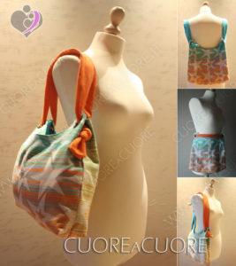 Borsa Babywearing Bag Freedom con scrap Pellicano Baby