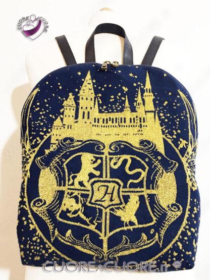 Luluna Shield Golden Night Custom BackPack Zainetto Personalizzato Harry Potter
