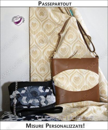 Custom Leather Bags Wrap Conversion Borse In Pelle Scrap Personalizzate Passepartout
