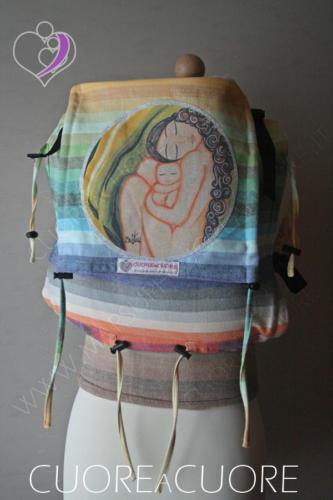 Marsupio Con Fascione Wrap Conversion Girasol Sistas Art