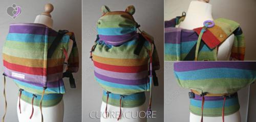 Wrap Conversion Marsupio Little Frog