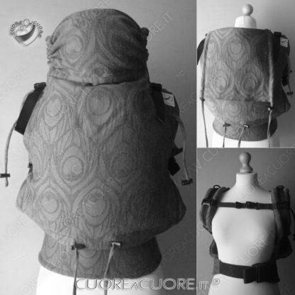 Custom Baby Carrier Wrap Conversion Artipoppe Argus Marsupio Personalizzato Preset