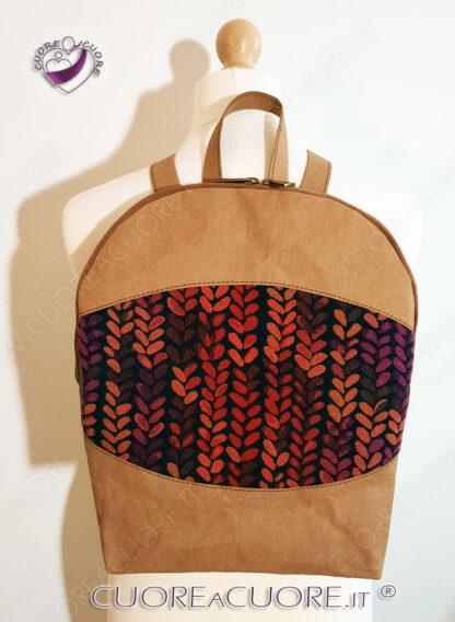 Zainetto Pelle Personalizzato WrapConversion Custom Leather BackPack WrapScrap Buddy