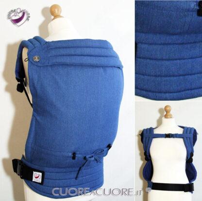 Marsupio Preschooler Personalizzato Denim FullBuckle Custom Carrier Jeans