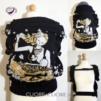 Natibaby Breastfeeding Sitting Mama WrapConversion Custom BabyCarrier Marsupio Personalizzato