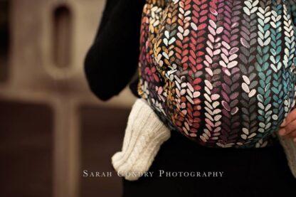 Woven Wings Stockinette Knitwear Winter Rainbow